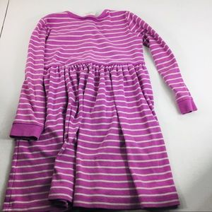 Hanna Andersson Dresses - Hanna Andersson Purple Stripes Long Sleeve Dress